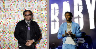 "Listen to Lil Baby and Gunna's new collab track ""Drip Too Hard"""