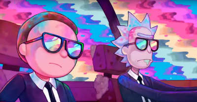 Rick and Morty star in the new Run The Jewels music video
