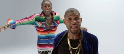 "Usher And Young Thug Direct A Dance Party In ""No Limit"" Video"