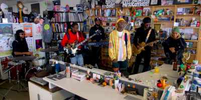 Watch Buddy's Tiny Desk Concert