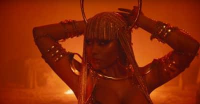 "Watch Nicki Minaj's ""Ganja Burn"" video"