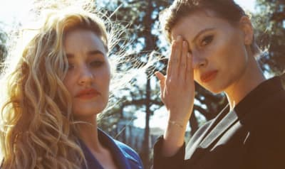 "Aly & AJ search for sacred spaces in their Alex Ross Perry-directed ""Church"" video"