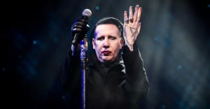Marilyn Manson recovering after collapsing on stage in Houston