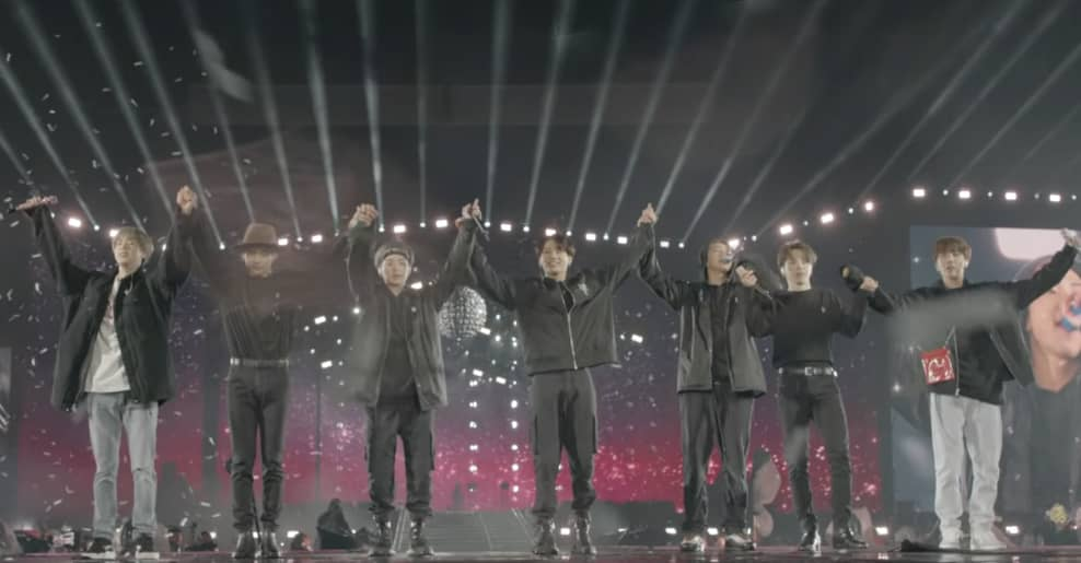 "BTS shares a new version of ""Make It Right"" in the fan-saluting video"