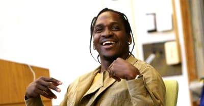Pusha-T got chased by a fox in Wyoming
