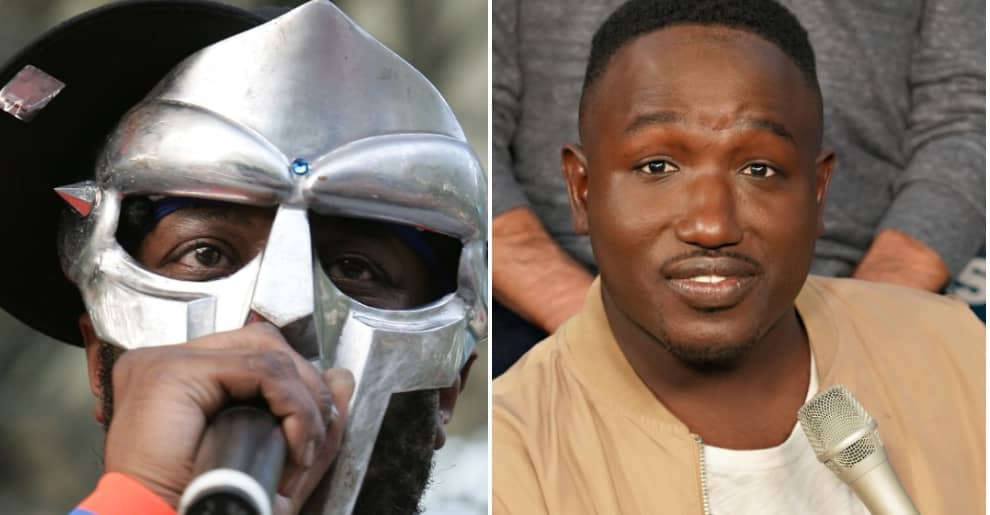 Once unmasked, Flying Lotus's surprise guest MF DOOM was revealed to be Hannibal Buress