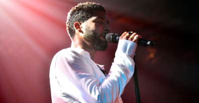 Jussie Smollett performs for first time since brutal attack