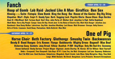 A neural network created band names for one funny, fake Coachella line-up