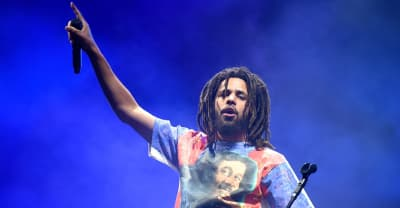 J. Cole paid tribute to Mac Miller during Vegas concert