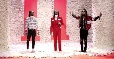 "Watch Migos perform ""Stir Fry"" on The Tonight Show"