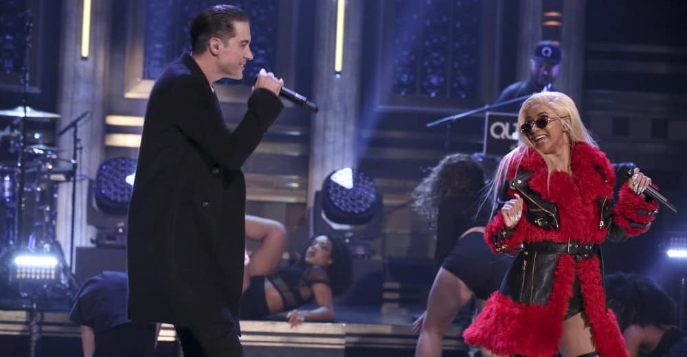 """Watch G-Eazy and Cardi B perform """"No Limit"""" on The Tonight"""