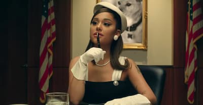 "Ariana Grande shares her presidential ""Positions"" video"