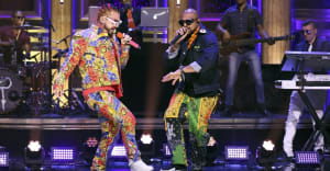 "Watch J Balvin perform ""Contra La Pared"" with Sean Paul on Fallon"