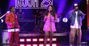 """Watch Noname perform """"Ace"""" with Saba and Smino on The Tonight Show"""