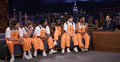 Watch Brockhampton freestyle for Jimmy Fallon on The Tonight Show
