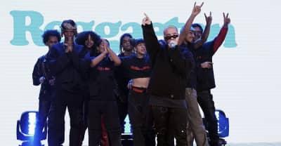 "Watch J Balvin perform ""Reggaetón"" on The Tonight Show"