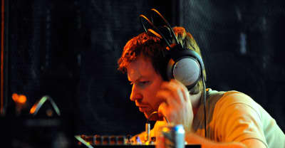 Aphex Twin is teasing something new in a London Underground station