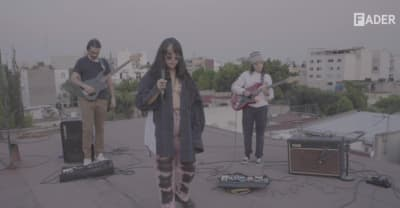 "Digital FORT: Girl Ultra plays ""Amor Salvaje"" from her Mexico City rooftop"