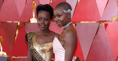 Lupita Nyong'o and Danai Gurira were absolutely enchanting at the Oscars