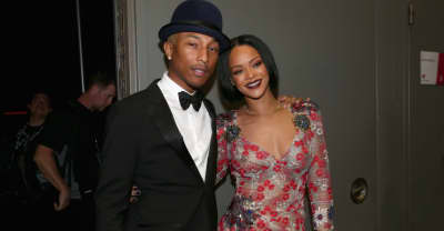 Pharrell hints he worked on Rihanna's upcoming album