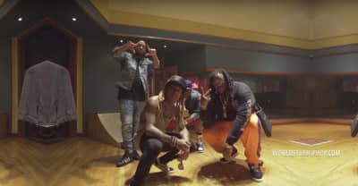 """Watch Lil Wayne Skate Around The Studio In His New Video For """"Loyalty"""""""