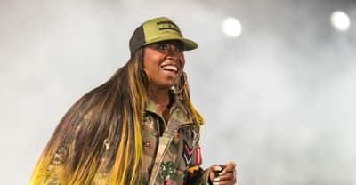 """Missy Elliott surprises viral video star who sang """"Work It"""""""