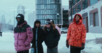 "Saba, MFnMelo, and Joseph Chilliams share new Pivot Gang video for ""Jason Statham, Pt. 2"""
