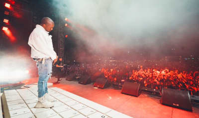 Watch Kanye West Make Two Surprise Appearances At Coachella