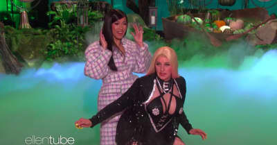 Ellen DeGeneres as Cardi B might be the most deeply unsettling costume of this Halloween