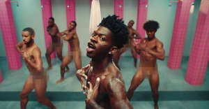 """Lil Nas X breaks out of prison in his """"Industry Baby"""" video"""