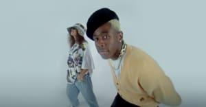 "Snoh Aalegra and Tyler, the Creator share ""NEON PEACH"" video"