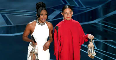 Tiffany Haddish's SNL gown made a return at the Oscars
