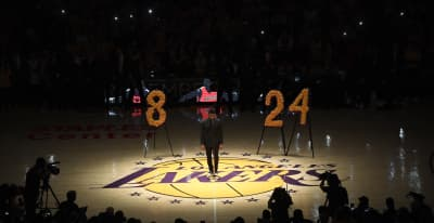Usher, Boyz II Men and Wiz Khalifa honor Kobe Bryant at Lakers' pre-game tribute