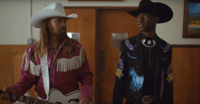 "Lil Nas X and Billy Ray Cyrus are outlaws in the ""Old Town Road (Remix)"" music video"
