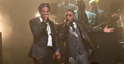 Watch JAY-Z bring out Nas, Cam'ron and Jim Jones at his B-Sides show at Webster Hall