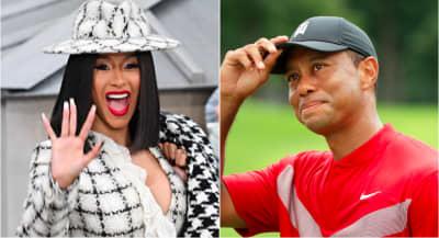 "Cardi B: ""I think I'm gonna name my album Tiger Woods"""