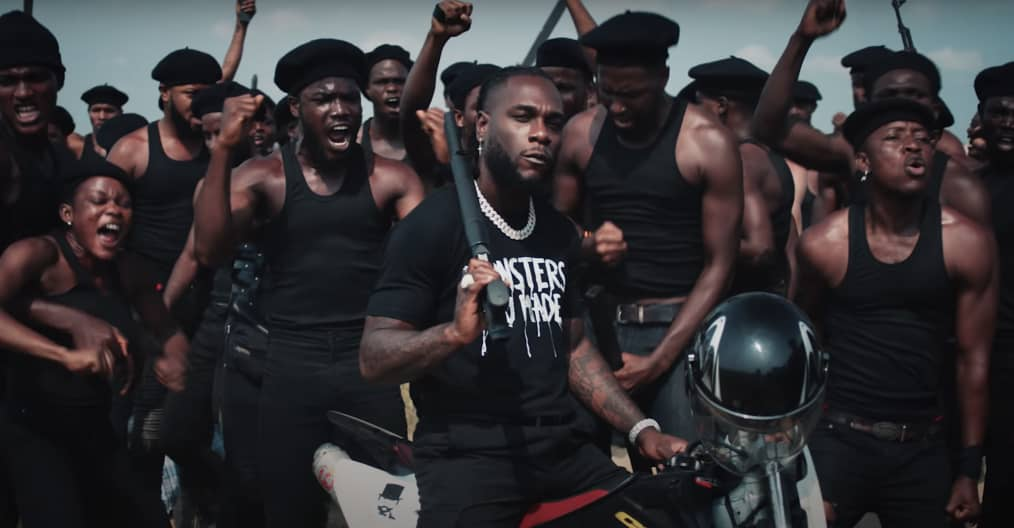 "Watch Burna Boy's music video for ""Monsters You Made"" featuring Chris  Martin 