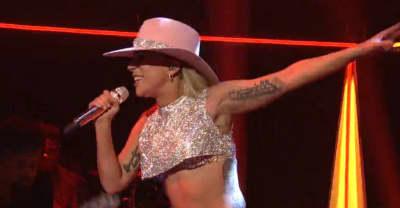 "Watch Lady Gaga Perform ""A-Yo"" And ""Million Reasons"" On SNL"