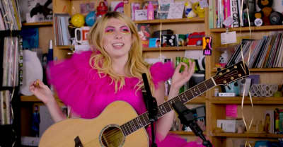 Watch Charly Bliss take over NPR's Tiny Desk
