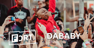 DaBaby rolled through The FADER FORT for a fiery surprise set