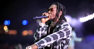 Offset gets daughter Kulture's name as a face tattoo