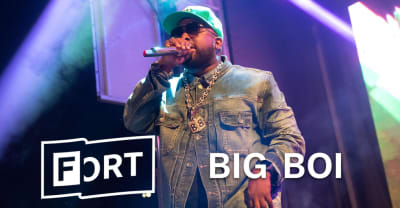 "Here's Big Boi playing ""The Way You Move"" at The FADER FORT"