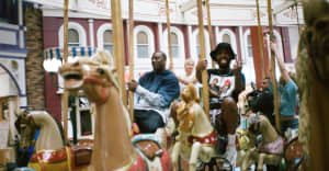 """Teddy Fantum and Sean Leon take over a fun fair in """"Shotty"""""""