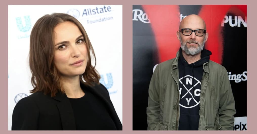 Moby issues apology after alleging he dated Natalie Portman