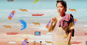 """Watch Superorganism's bonkers new video for """"The Prawn Song"""""""