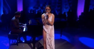"Watch FKA twigs perform ""Cellophane"" on Later... backed by Sampha"