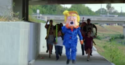 "Neon Indian battles a Trump piñata and migrant worker injustice in the ""Toyota Man"" video"