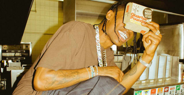 Travis Scott's new McDonald's merch drop looks exactly like you think it does 1