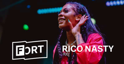 "Watch Rico Nasty light up The FADER FORT with an intense ""Sandy"""