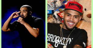 """Drake brings out Chris Brown to perform """"Party"""" on L.A. tour stop"""